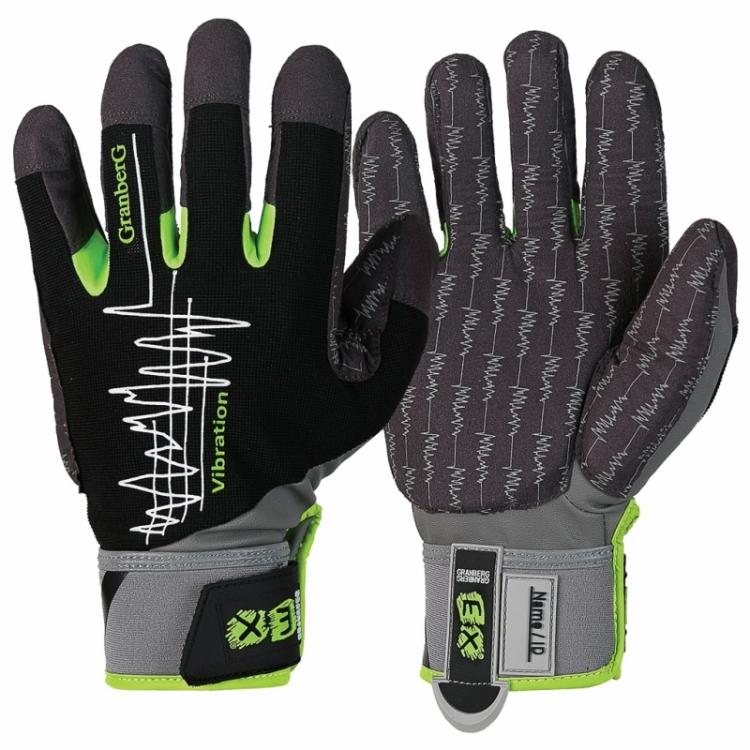 EX® vibrationsdämpande handskar i MacroSkin Pro®, vibrationshandskar