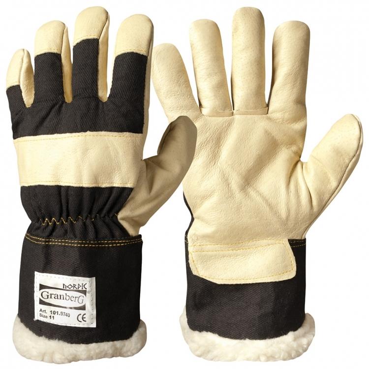 Granberg® arbetshandskar i svinnarv, vinterfodrad