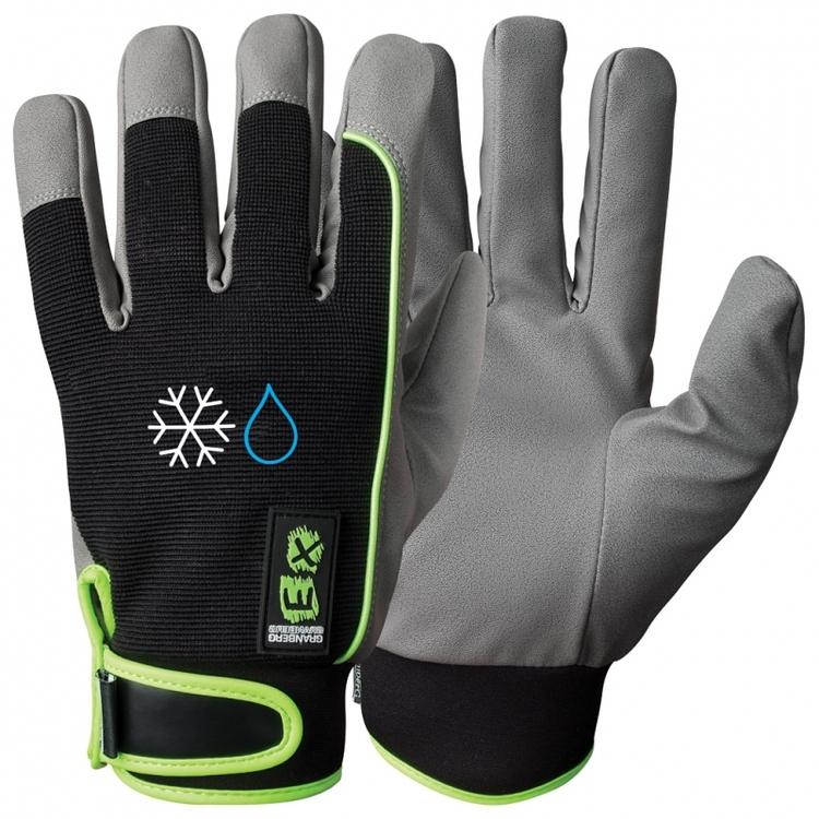 EX® montagehandskar i MicroSkin Shield®, vinterfodrad och vattentät