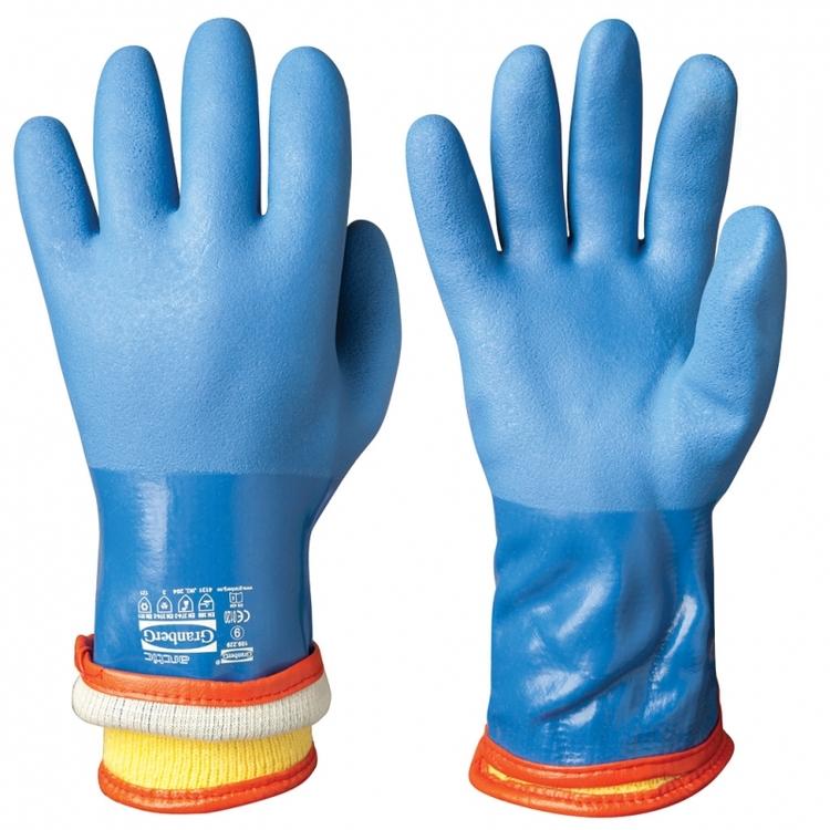 10-pack Chemstar® kemikalieresistenta handskar i vinyl, vinterfodrade