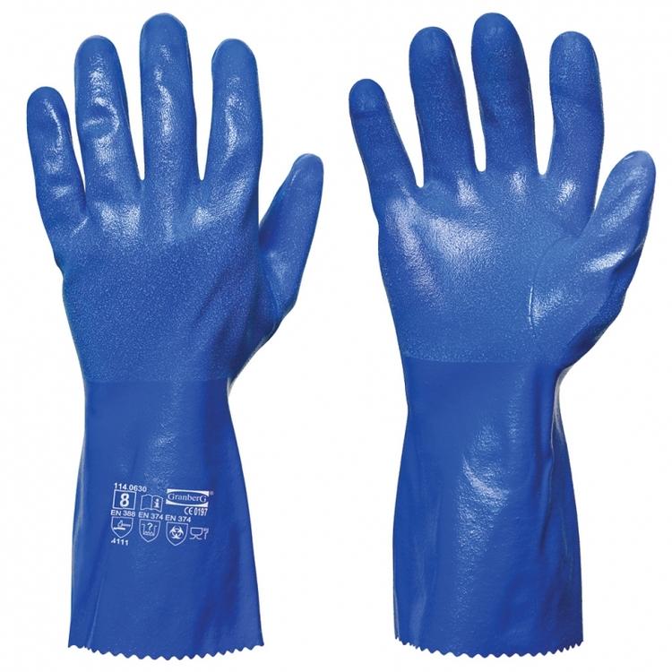 Granberg® kemikalieresistenta handskar i nitril. 114.0630