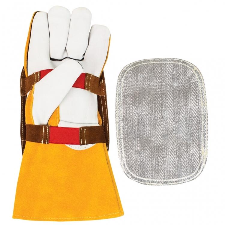 värmereflekterande handskydd för svetshandskar