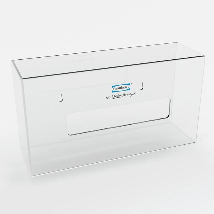 Granberg® 2-pack dispenser för engångshandskar i plexiglas. 904.1400