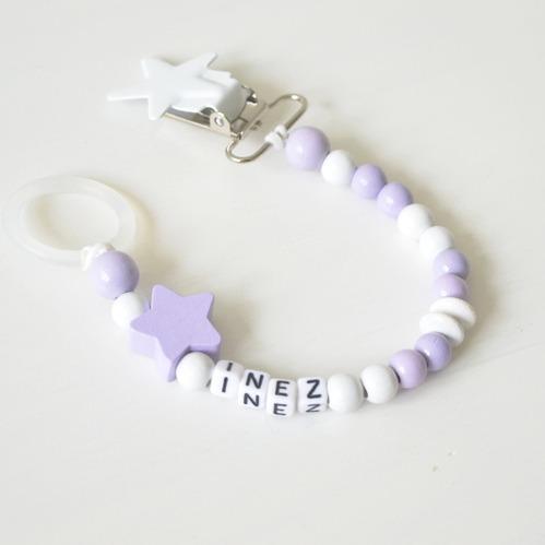 Napphållare -Busig Lavendel