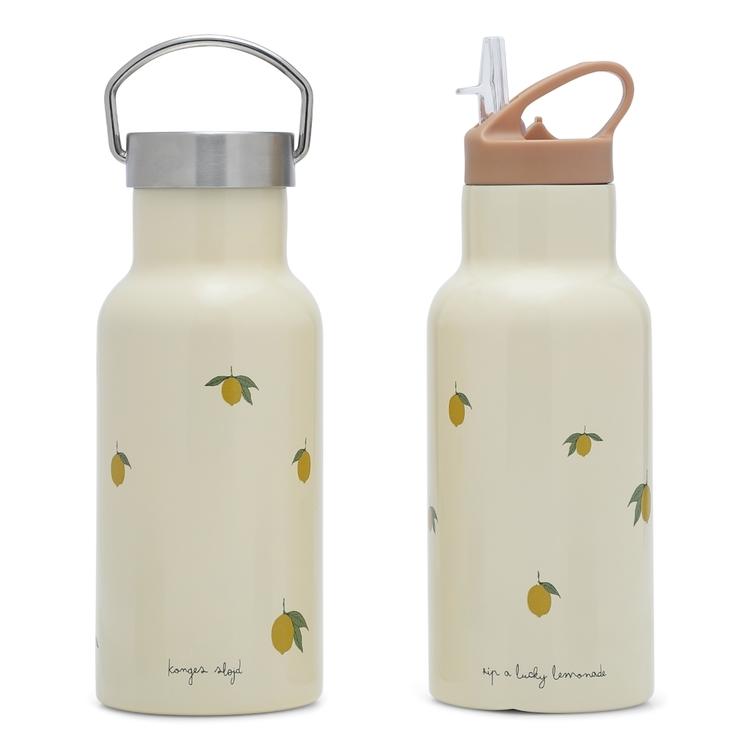Kopia Vattenflaska / termos i stål - Lemon