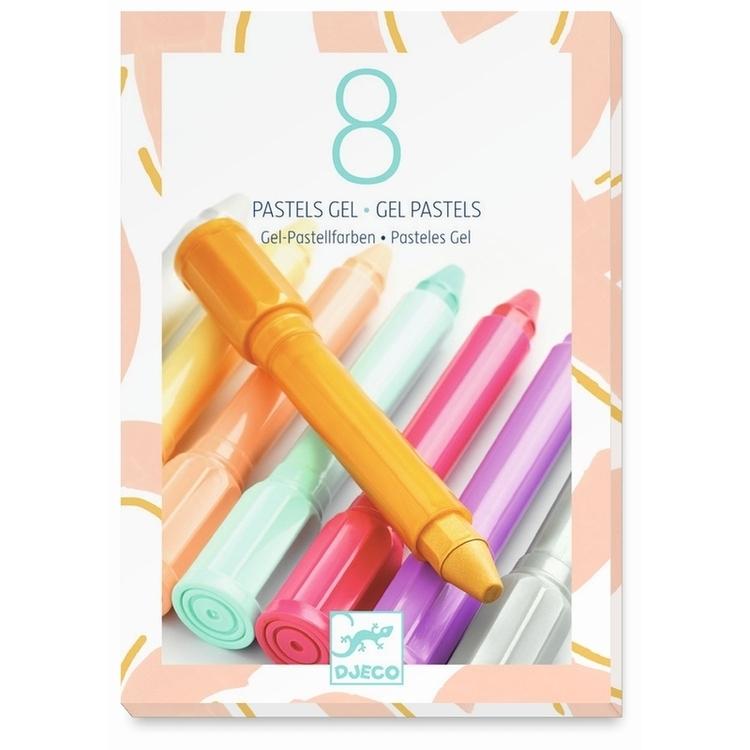 Gelkritor 8 st - Pastell