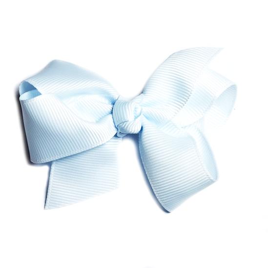 Rosett clips - Ljusblå