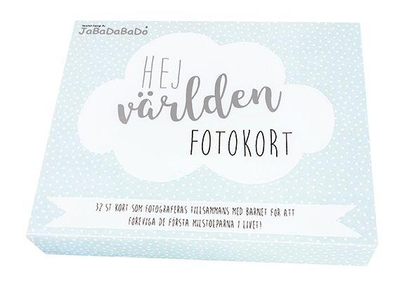 Fotokort - Blå