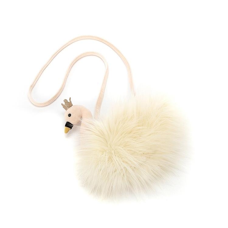 Väska  - Fluffig Svan