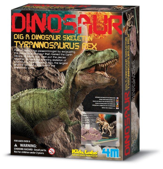 T-rex skelett utforskarkit
