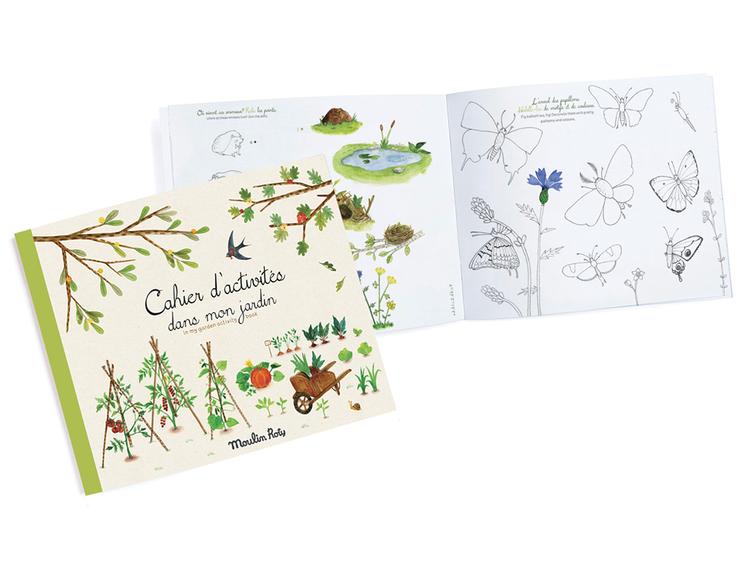 Pysselbok - Min trädgård