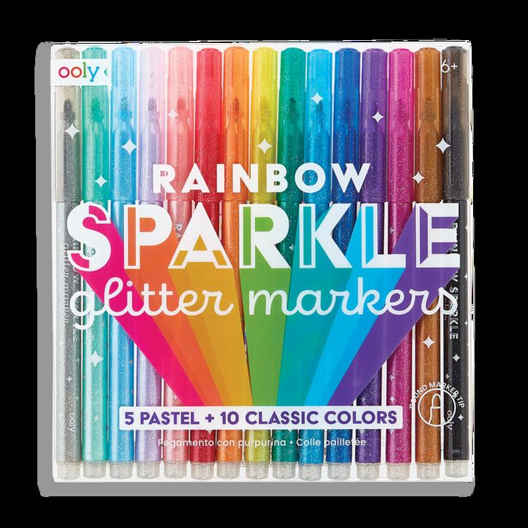 Glitterpennor -  Rainbow
