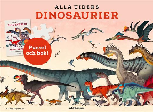 Alla tiders dinosaurier - pysselbox