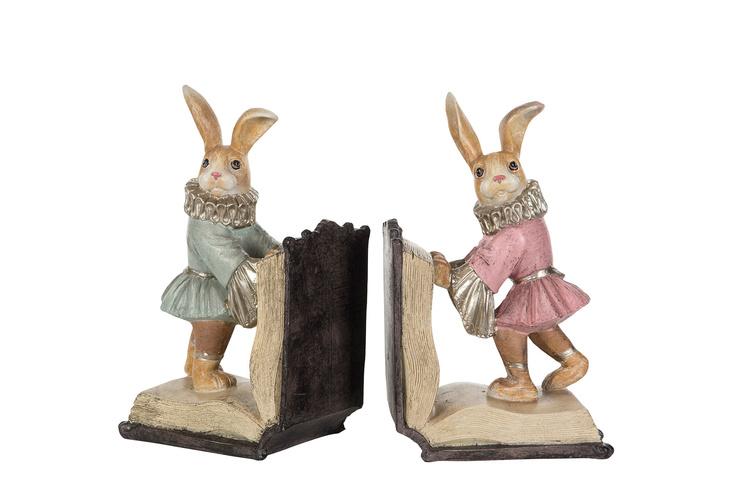 Bokstöd - Kaninbarn