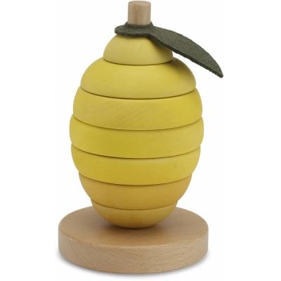 Stapelleksak - Citron