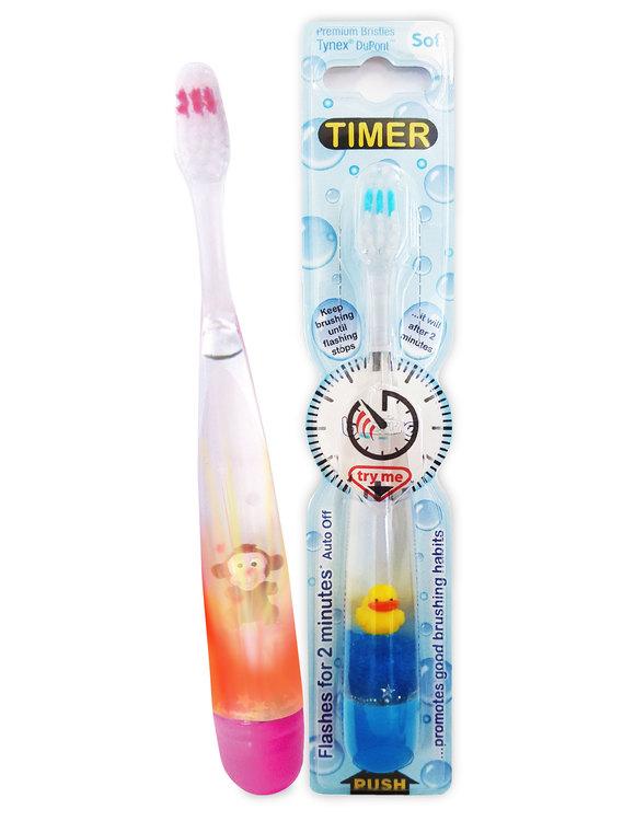 Tandborste som blinkar