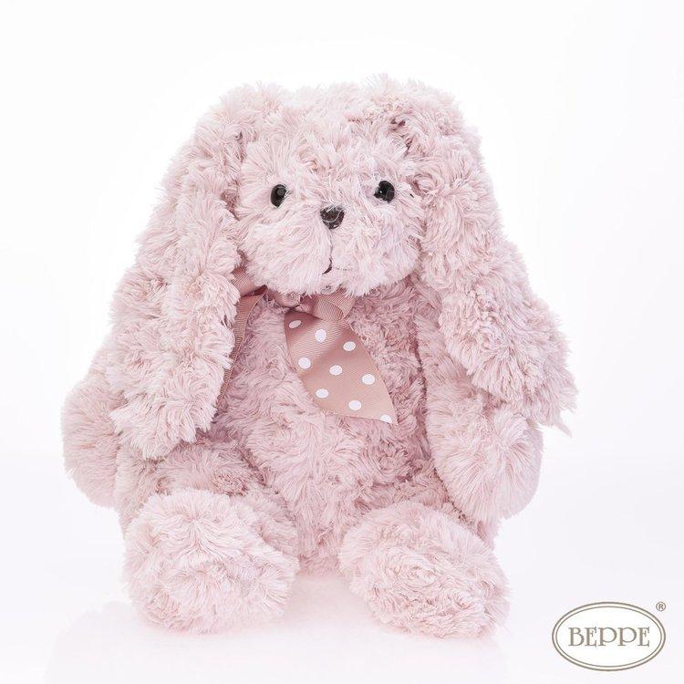 Gosedjur - Rosa kanin med rosett