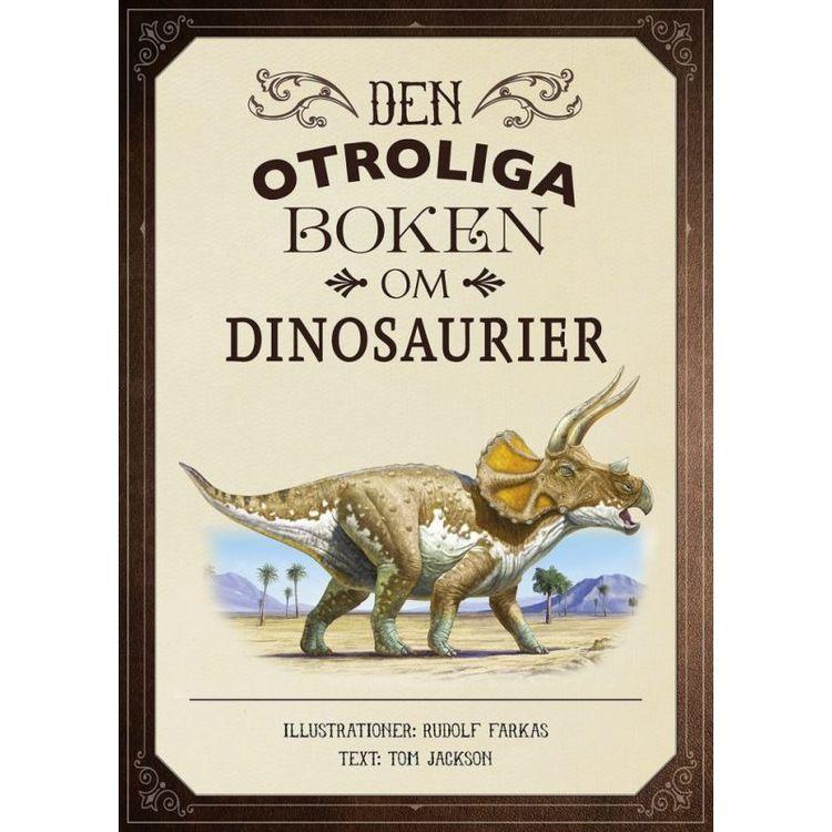 Bok - Den otroliga boken om dinosaurier