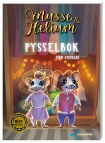 Musse & Helium pysselbok med stickers