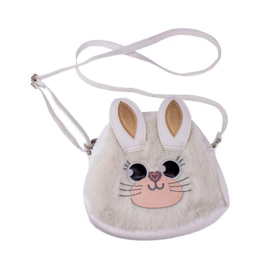 Väska  -Vit kanin