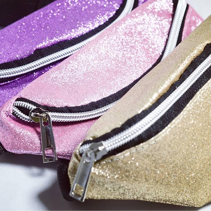 Magväska - Glitter