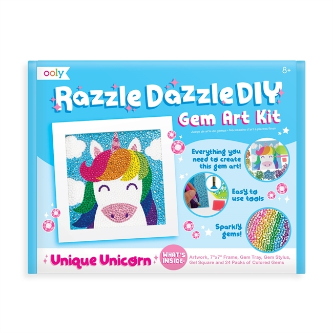 Razzle Dazzle DIY art kit  - Enhörning