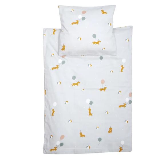 Täcke/kudde till docksäng