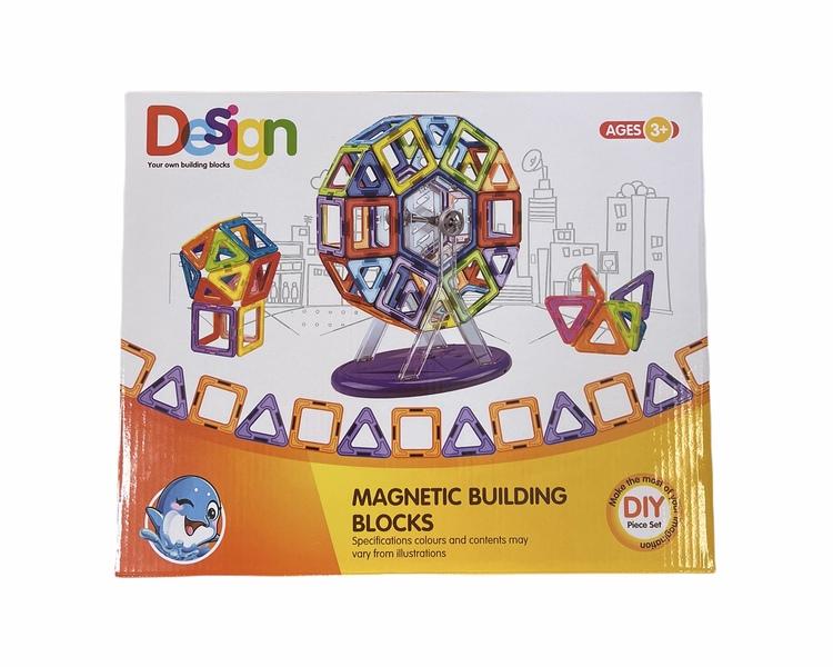 Magnetisk byggsats - 84 delar
