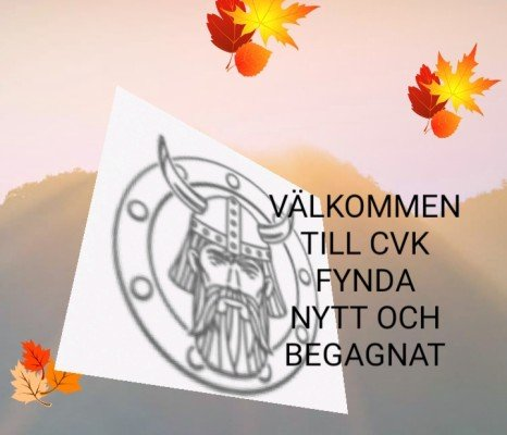 CVK FYNDA NYTT OCH BEGAGNAT