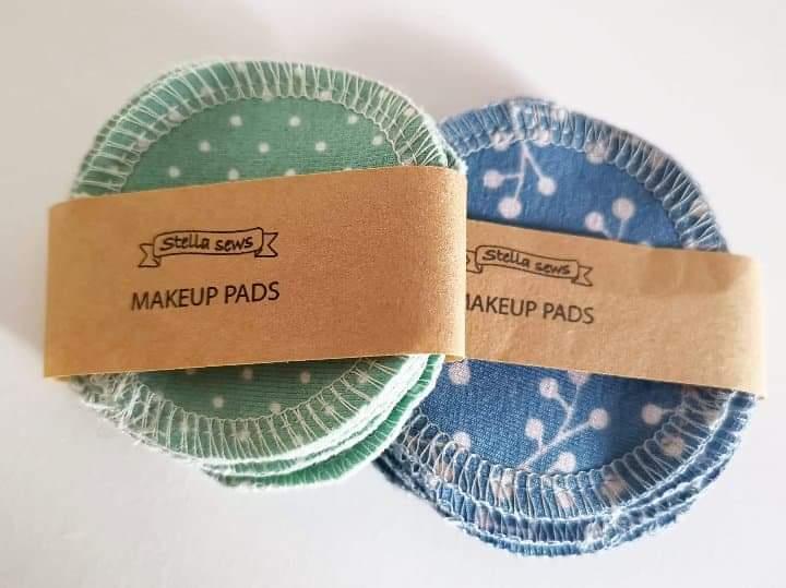 Tvättbara Make Up-pads, 8-pack