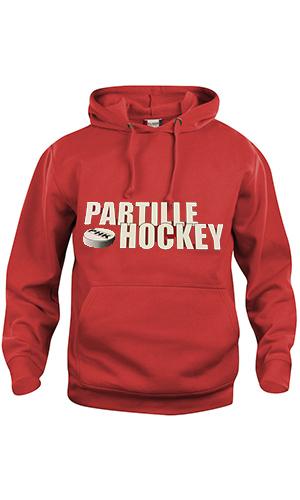 Partille hockey Hood SR Röd