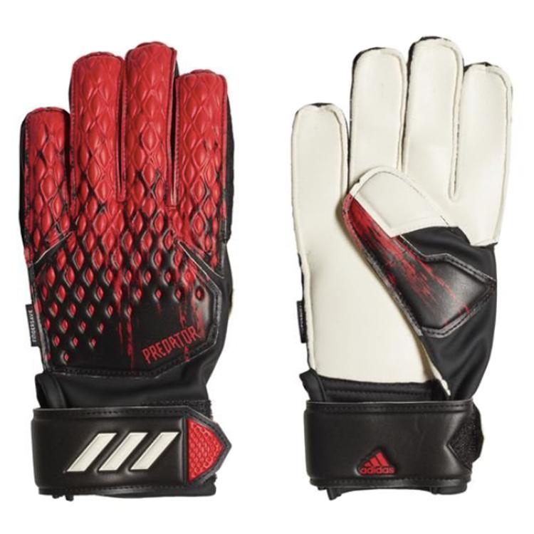 Adidas Predator Match Fingersave Junior Svart/Röd