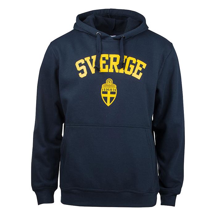 Sverige Hoodie Navy Jr