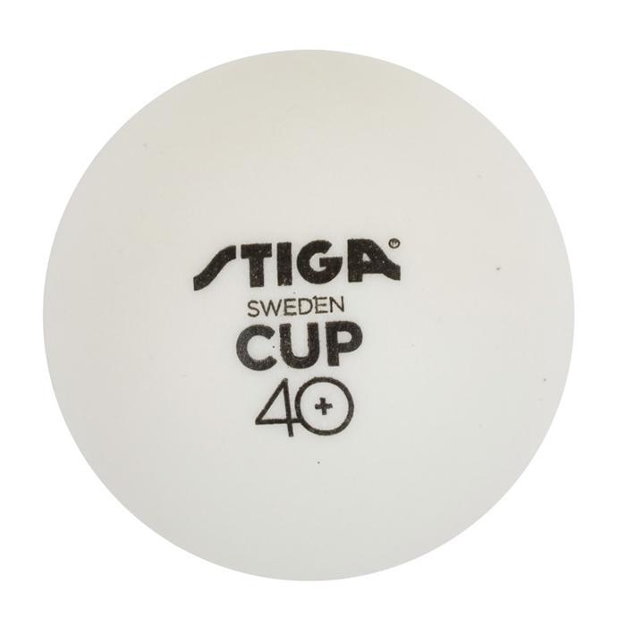 Stiga CUP 40+ 6-Pack Pingisbollar