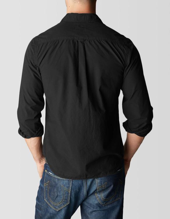 Skjorta - Svart kashmir