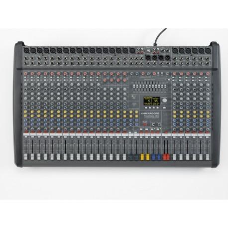 Mixerbord med inbyggda slutsteg - audiodelight