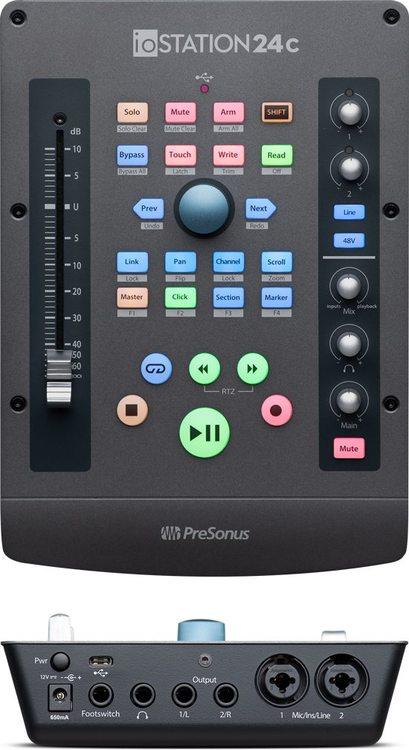 iOstation 24 C audio interface w.Faderport