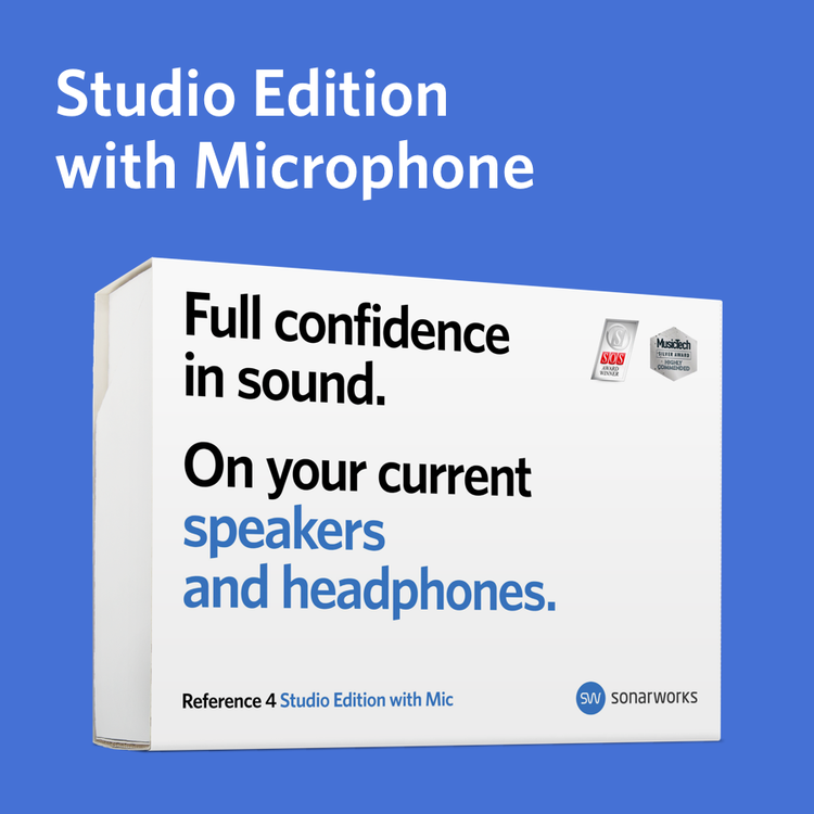 Reference 4 Studio edition with mic - boxed