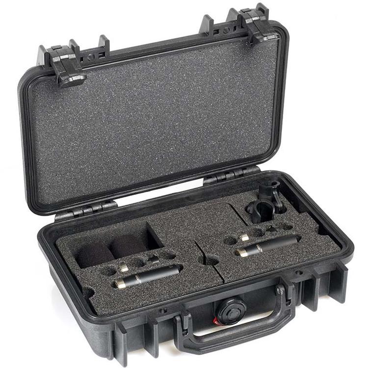 DPA 4006 C Stereopar Compact, Clips, samt Vindskydd i PeliCase