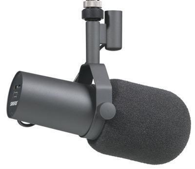 Shure SM7B Cardioid Dynamic Studio Vocal Mic