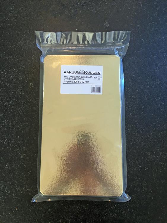 Laxbrickor Guld/Silver 180x550