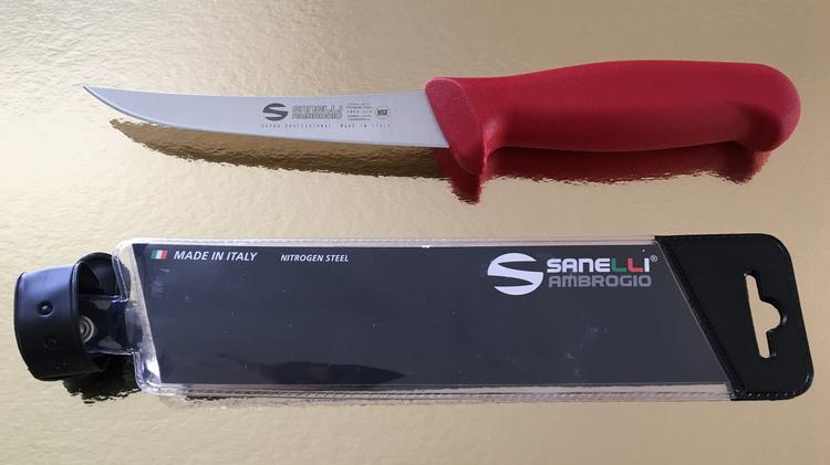 Knivset + knivslip SANELLI