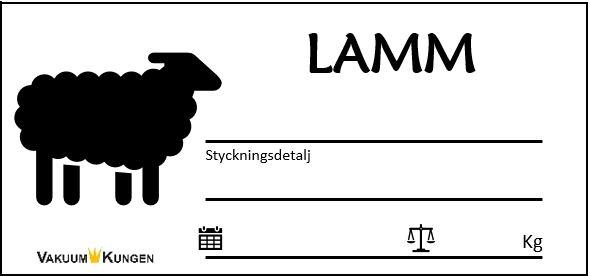 Etiketter Tamdjur