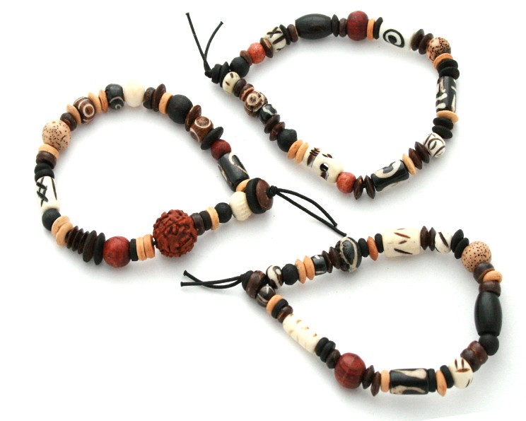Armband Budha Beads 3-pack