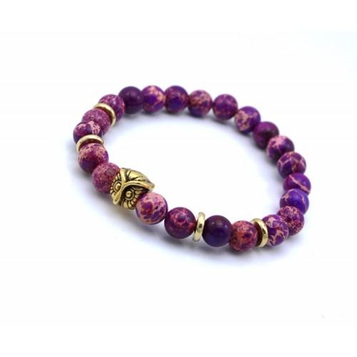 Owl Purple Stone (rea)