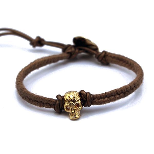 Gold Skull Rope
