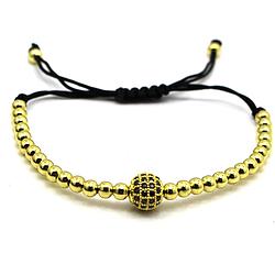 Diamond Ball Bracelet Gold (rea)