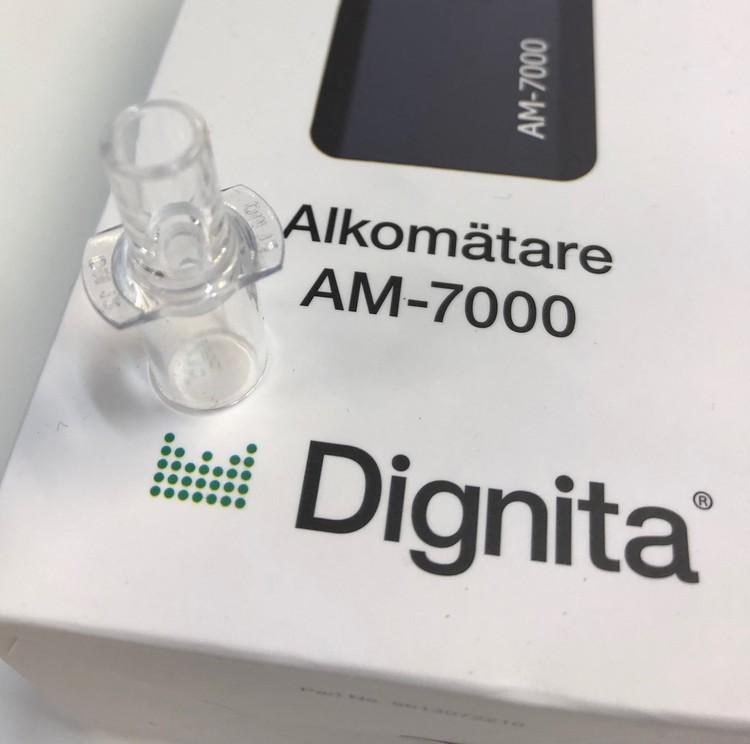 Munstycken till Dignita  Alkotestare AM 7000 10 pack