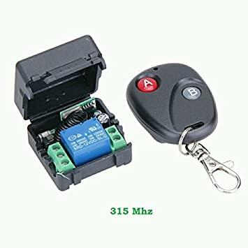 Smart Home 433Mhz DC 12V 1CH Wireless Remote Switch