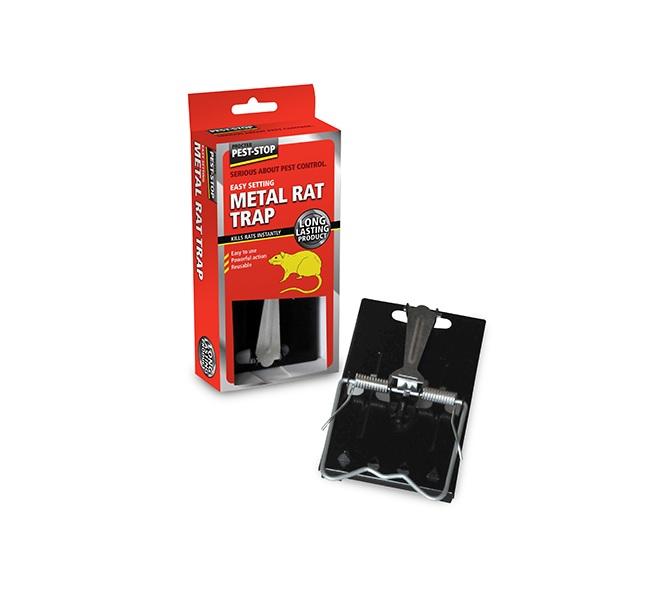 Råttfälla i metall /Easy Setting Metal Rat Trap PSESRT